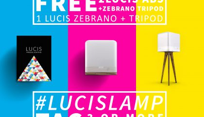 Lucis wireless lamp free giveaway win a lucis lamp