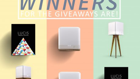 lucis wireless lamp free give away winners