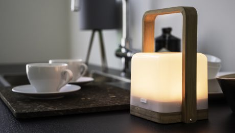 lucis portable light bamboo the most powerful wireless mood light in the world