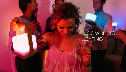 lucis wireless lamp portable lights like no other