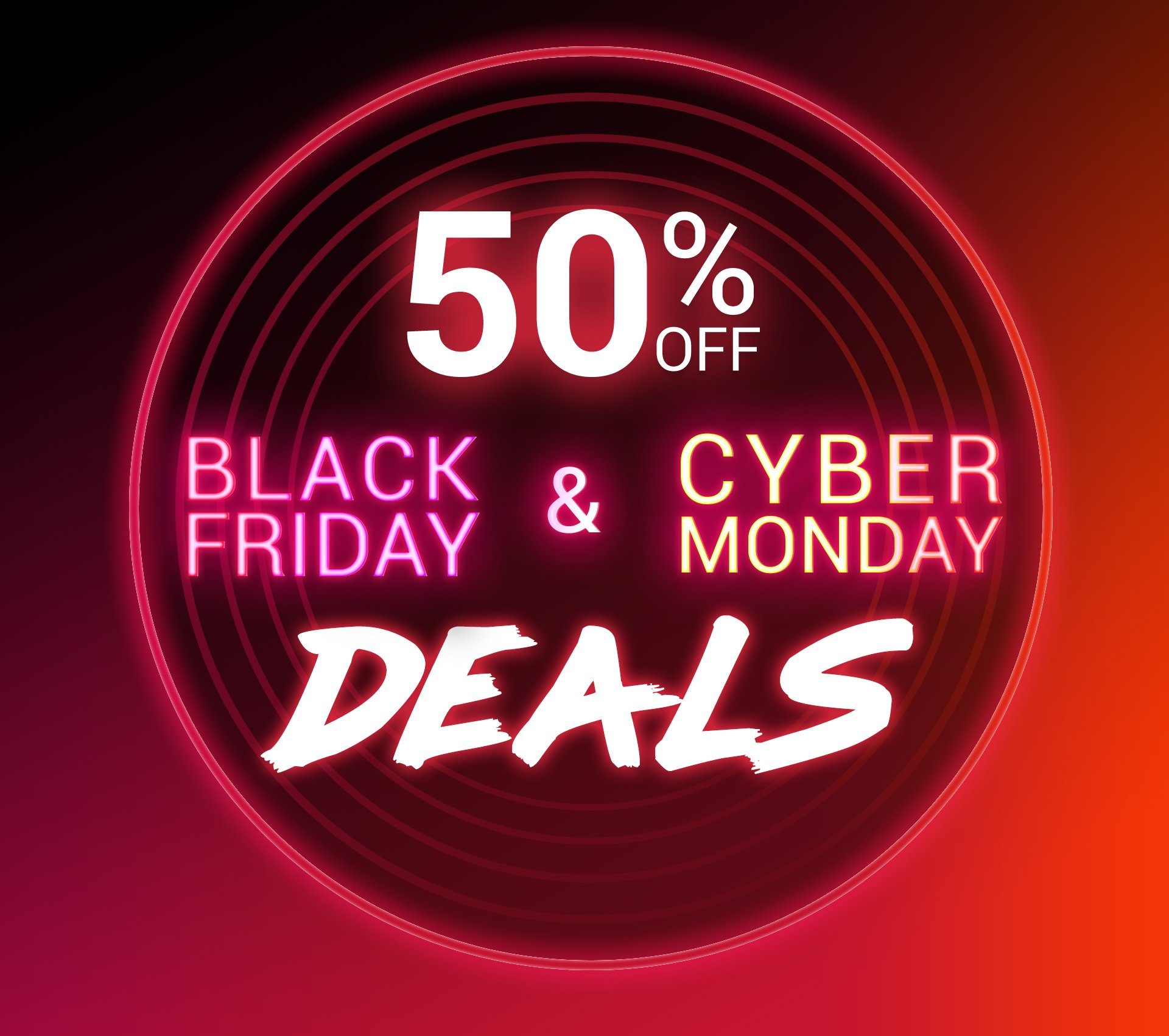 50 Off Black Friday Cyber Monday Deals