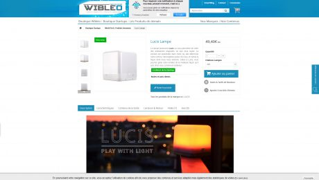 lucis wireless lamp available on wibleo