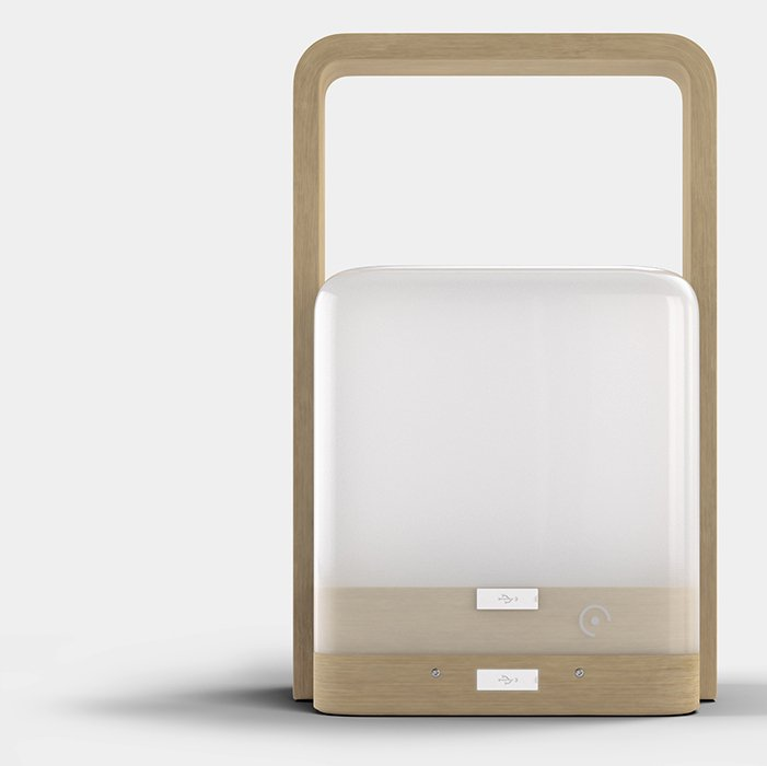 Lucis-wireless-personal-lamp-Bamboo-front-view2